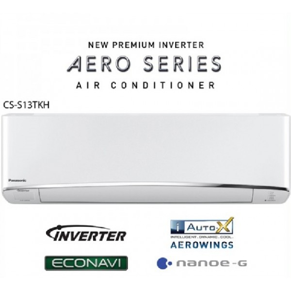 Panasonic 13000 BTU 1.5HP Premium Inverter AERO Series Air Conditioner