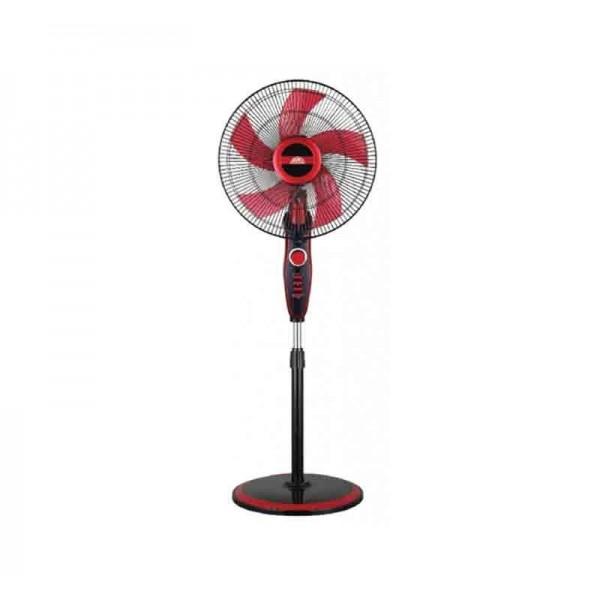 Arpico 5 Blade Pedestal Fan (IMARPFS40A1R) - Red and Black