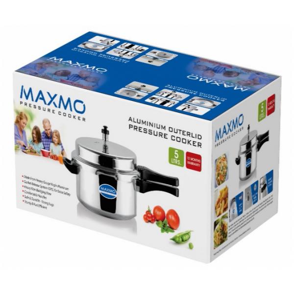 Maxmo 5 Ltrs Pressure Cooker
