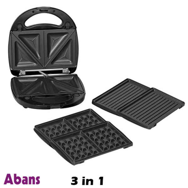 Abans 3 In 1 Toaster