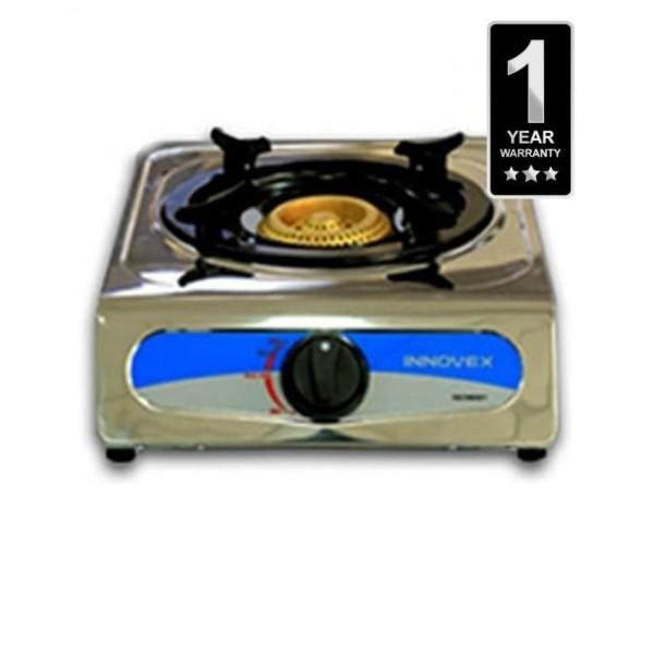 1 Burner Gas Cooker - Silver