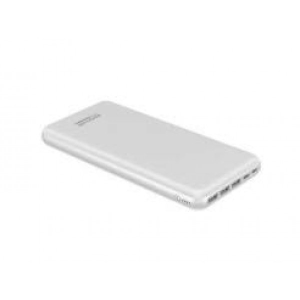 Promate 3000 mAh Ultra-Slim Power Bank with 3 Input Ports & 4 Output