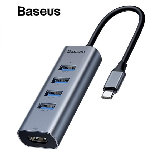 4 USB Hub Adapter