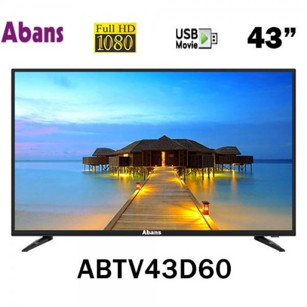 "Abans 43"" FHD LED TV - ABTV43D60"