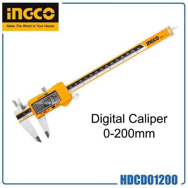 INGCO DIGITAL CALIPER 0-200mm