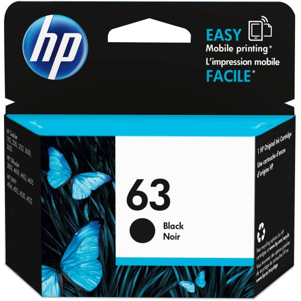 Cartridge HP 63 Black