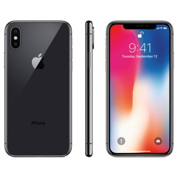 iPhone X -64GB- Black/Silver