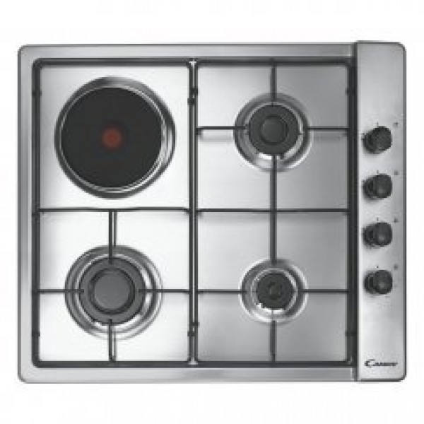 Candy 60 cm Gas & Electric Hob