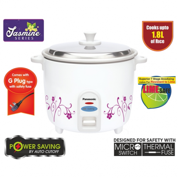 Panasonic 1.8L (10 cups) Rice Cooker