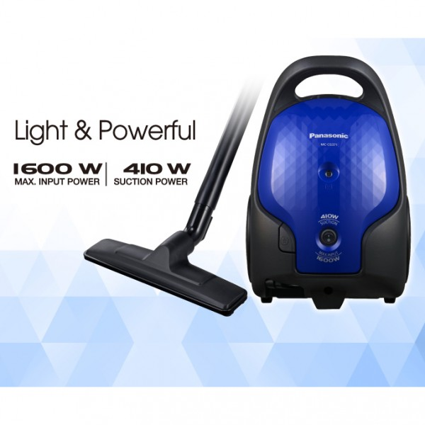 Panasonic 1600W Canister Vacuum Cleaner