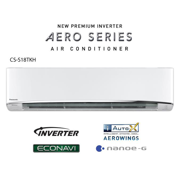 Panasonic 18000 BTU 2.0HP Premium Inverter AERO Series Air Conditioner