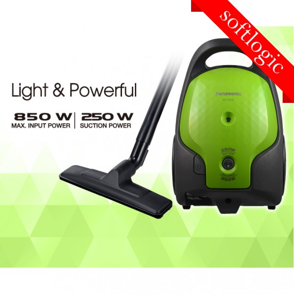 Panasonic 850W Bagged-Type Vacuum Cleaner