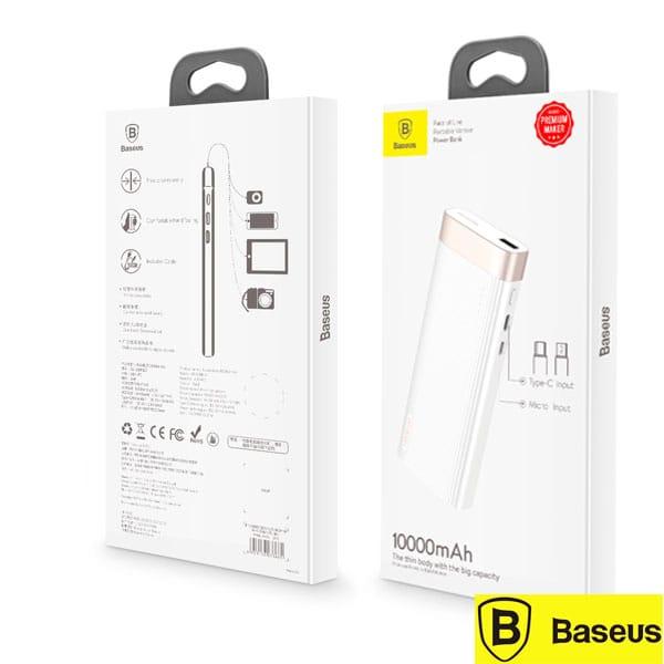 PowerBank Baseus USB Type-C / Micro USB 10000mAh