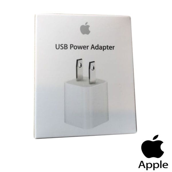 USB Power Adapter Charger Plug 5W for iPhone